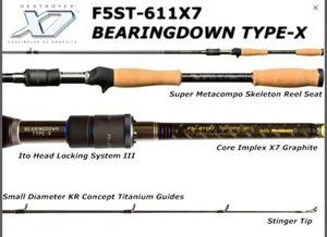 Rods Megabass Destroyer F5st-611X7