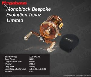 Reels Megabass Monoblock Bespoke Evoluzion Topaz Limited
