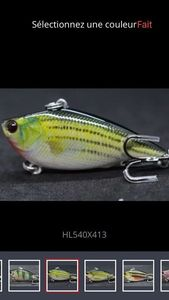 Lures null Lipless