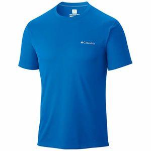 Apparel Quechua T-shirt polyester manches courtes, bleu XXL.
