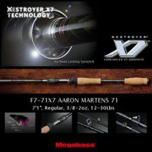 Rods Megabass Destroyer F7-71X7 Aaron Martens