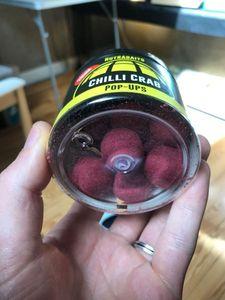 Baits & Additives Nutrabaits Bouillette pop-up chilli crab