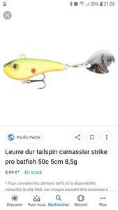 Lures Strike Pro strike pro tailspin batdish 5cm.