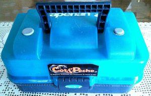 Accessories Caperlan Malette de rangement 2 plateaux, bleue, 34*18*16,5 cm, ~10 €.