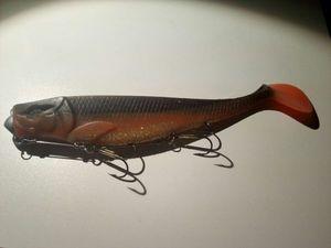 Lures Illex Dexter Shad UV 200 Orange\Black