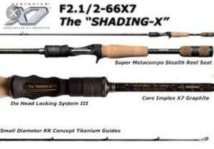 Rods Megabass Destroyer F2.1/2-66X7