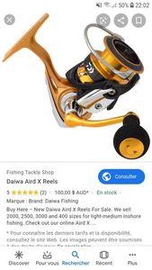 Reels Daiwa Aird x 3000