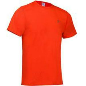 Apparel Quechua T-shirt polyester manches courtes, rouge XXL.