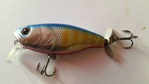 Lures Deps buzzjet jr red bluegill