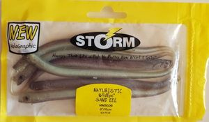 "Lures Storm Naturistic Wildeye Sand Eel 6""/15cm"