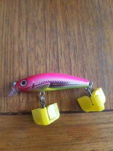 Lures Rapala ULM04 pink
