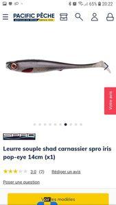 Lures Spro iris pop-eye 17cm