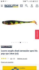 Lures Spro iris pop-eye 21cm