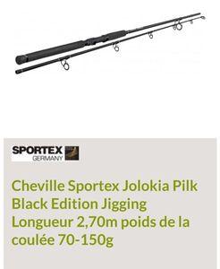 Rods Sportex Jolokia pilk black édition