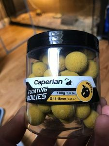 Baits & Additives Caperlan Bouillette pop-up Scopex