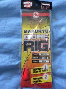 Tying Marukyu Isome Rig