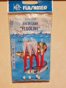 Leaders Flashmer Bas de ligne Fluoline