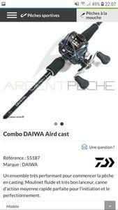 Rods Daiwa aird x casting  662MH 7-28g