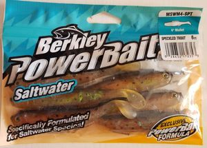"Lures Berkley Salt Water Mullet 4""-Speckled Trout"