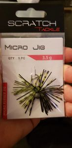 Lures Scratch Tackle Micro jig 3,5g