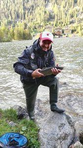 Truite de Lac (Touladi - Omble du Canada - Truite Grise - Cristivomer) — Alexandre Dévaud