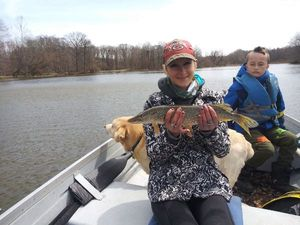 Northern Pike — Fishing Goddess Colley