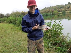 Rainbow Trout — Rod fishing .