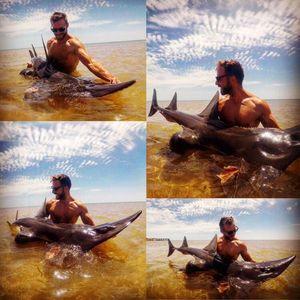 Shovel nose shark — Adrien Isaïa Pro