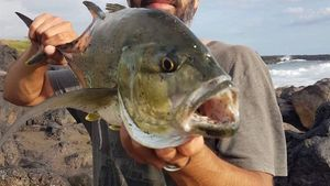 Brassy Trevally — Tiago Shore Jigging