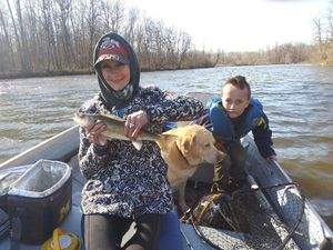 Walleye — Fishing Goddess Colley
