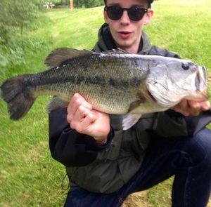 Largemouth Bass — Marin Rossner