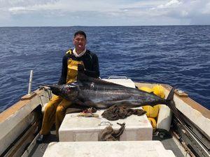 Blue Marlin (Pacific) — Tehei Arii