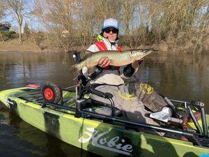 Northern Pike — Franck Kayak Fishing