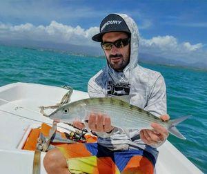 Poisson Banane (Bonefish) — Guillaume pêche Guadeloupe