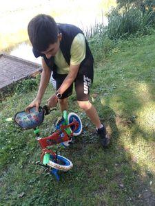 Vélo d'eau douce