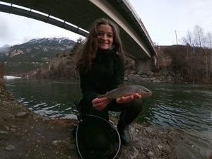 Brown Trout — Marie-Rose Perret