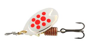 Lures Abu Garcia FAST ATTACK 7 G SILVER/RED DOTS