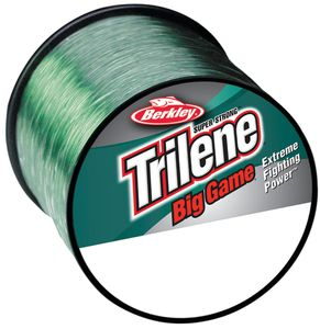 TRILENE BIG GAME GREEN 1/4 LB SPOOL 0.254 MM