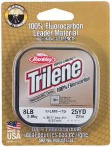 Leaders Berkley TRILENE FLUOROCARBON CLEAR 25 M / 0.15 MM