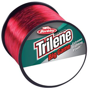 Lines Berkley TRILENE BIG GAME RED 1/4 LB SPOOL 0.386 MM