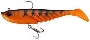 Lures Berkley PRERIGGED GIANT RIPPLE 20 CM ORANGE BLACK