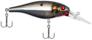 BAD SHAD 7 CM BLACK SILVER