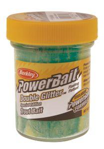 Baits & Additives Berkley DOUBLE GLITTER TWIST GREEN/WLEMON/YEL.