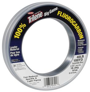 BIG GAME FLUOROCARBON LEADERS 0.81 MM