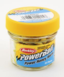 POWERBAIT HONEY WORMS 2.5 CM YELLOW