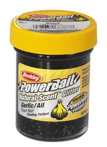 Baits & Additives Berkley NATURAL SCENT TROUTBAIT GARLIC BLACK