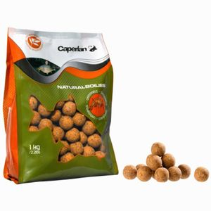 Baits & Additives Caperlan BOUILLETTE NATURAL BOILIES 1KG SPICY BIRDFOOD