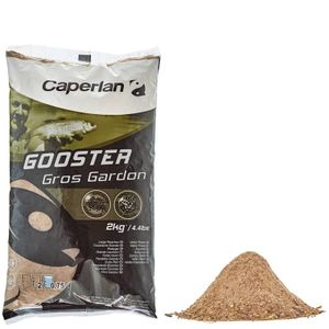 Baits & Additives Caperlan GOOSTER GROS GARDON 2KG