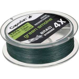 Lines Caperlan BRAID 4X GREEN SMOKE 130 M 35/100