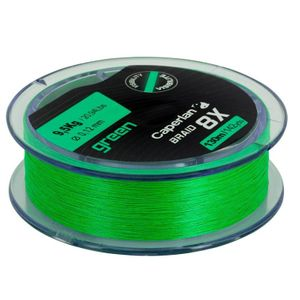 Lines Caperlan BRAID 8 X GREEN 130 M 18/100